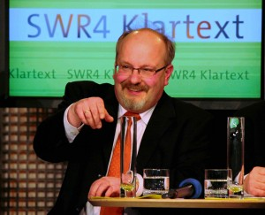 Claudius Moseler bei der SWR-Podiumsdiskussion